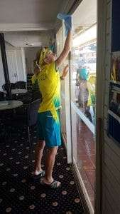 Jackaroos 2018 - more window cleaning