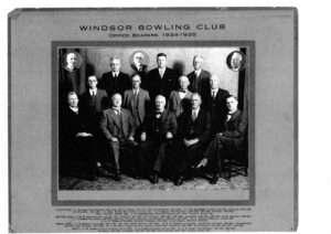 Office Bearers 1934-35